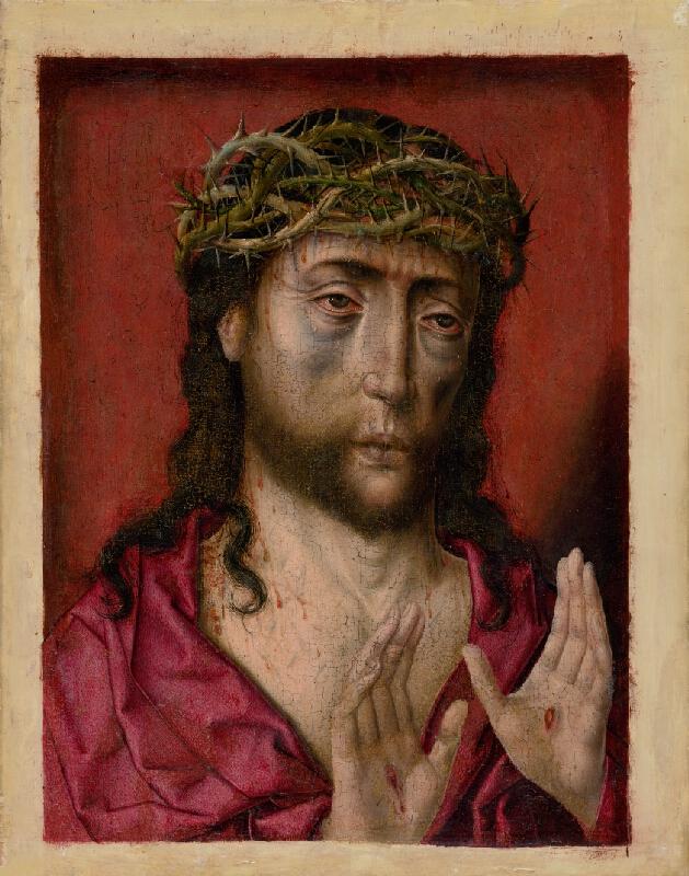 Albert Bouts - Bolestný Kristus