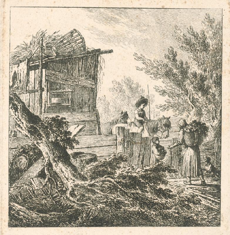 Johann Josef Schindler - Sedliacka rodina