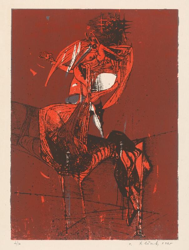 Vincent Hložník - 15 - List z cyklu Veselý zvierací svet
