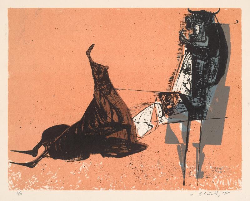 Vincent Hložník - 25 - List z cyklu Veselý zvierací list