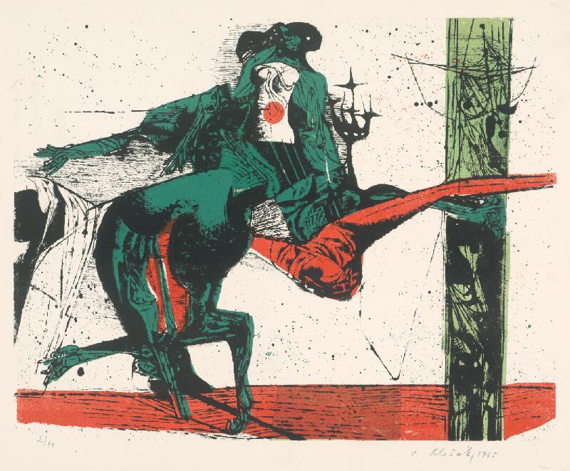 Vincent Hložník - 30 - List z cyklu Veselý zvierací svet