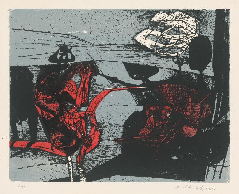 Vincent Hložník - 31 - List z cyklu Veselý zvierací svet