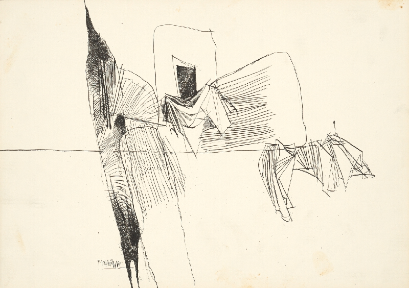 Ferdinand Hložník - Kresba V.