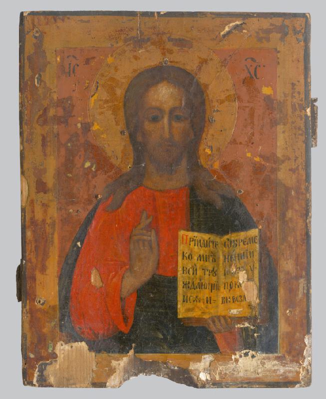 Ikonový maliar, Neznámy ikonopisec - Kristus učiteľ