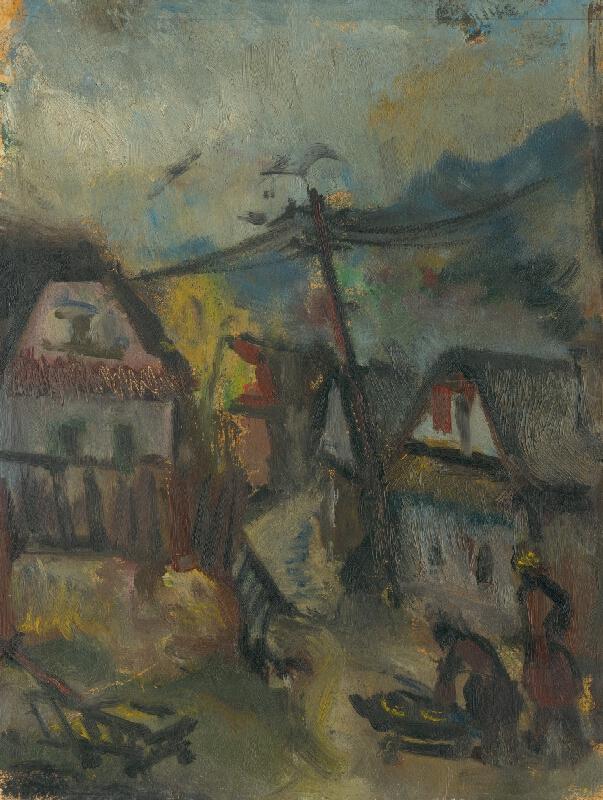 Sibylla Greinerová - Cigánska osada