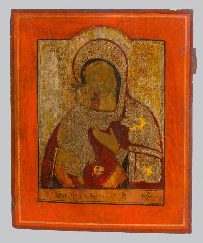 Neznámy ikonopisec - Teodorovská (Fjodorovská) Matka Božia - príkrov