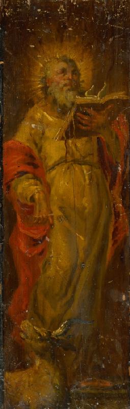 Slovenský maliar zo 17. storočia, Neznámy maliar - Svätý Lukáš Evanjelista