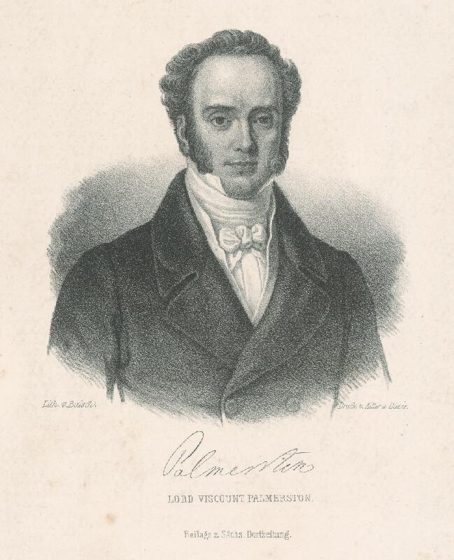 Otto Baisch - Lord Viscount Palmerston