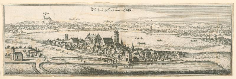Nemecký autor zo 17. storočia - Büchau Statt und Stifft