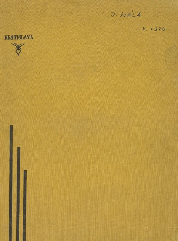 Jan Hála - Náčrtník [25 listov]