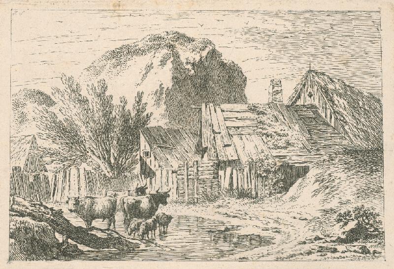 Západoeurópsky autor z 18. storočia - Stretnutie s hadom