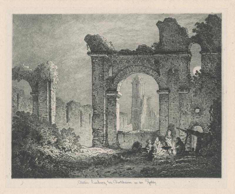 Hermann Dyck - Starý Limburg pri Dürkheime vo Falcku