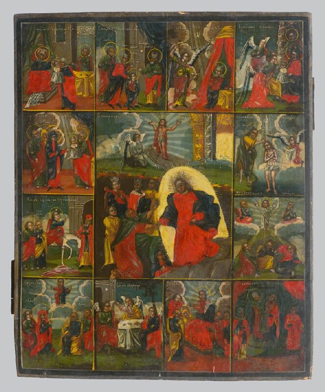 Ruský ikonopisec - Zmŕtvychvstanie Krista