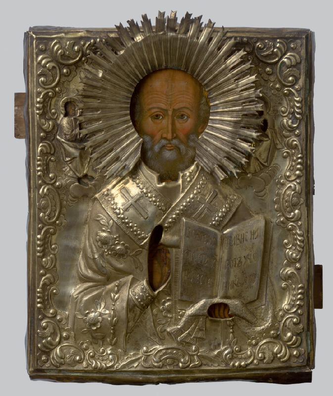 Ruský ikonopisec - Sv. Mikuláš Divotvorca