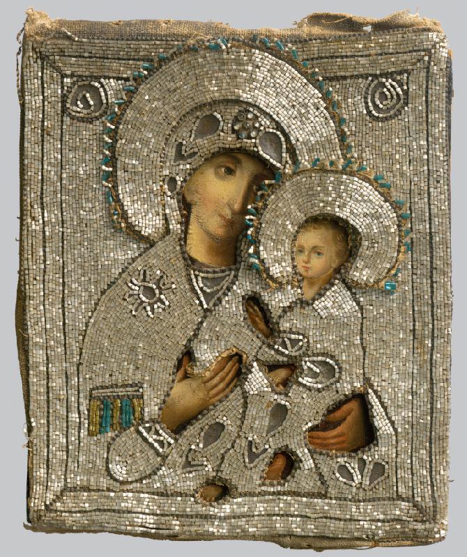 Ruský ikonopisec - Bohorodička s dieťaťom