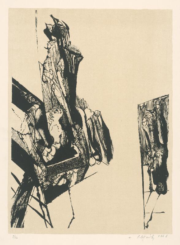 Vincent Hložník - 5 - List z nepomenovaného cyklu