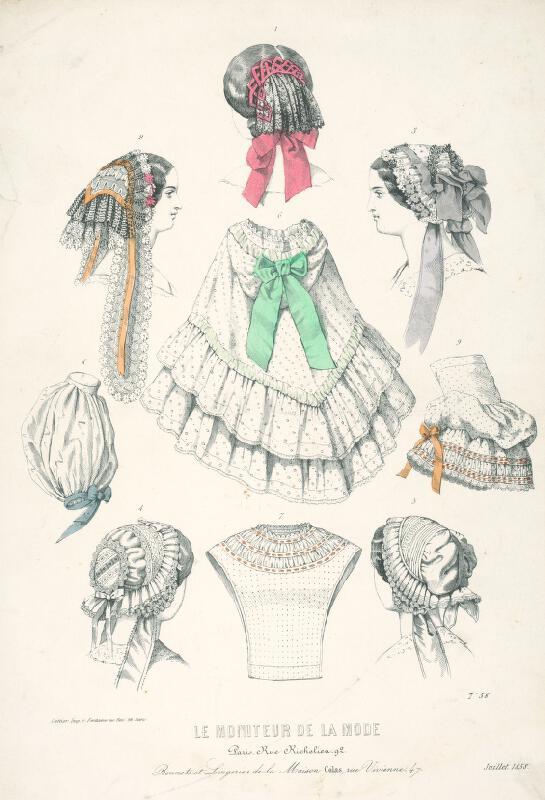 Jules David, Revillez, Réville - List z módneho časopisu Le Moniteur de la Mode