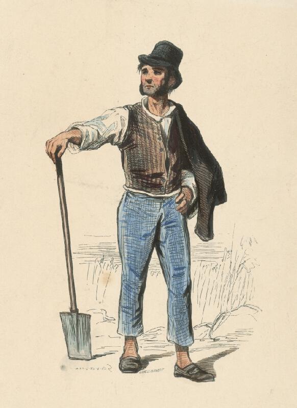 Paul Gavarni, Eugéne Guillaumot - Robotník