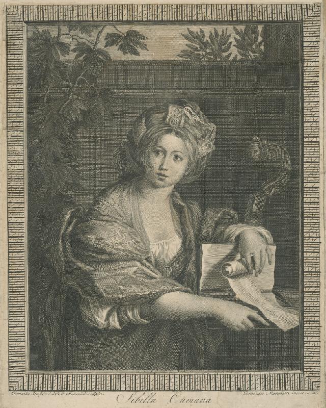 Domenico Marchetti, Domenico Zampieri - Sibilla Cumana