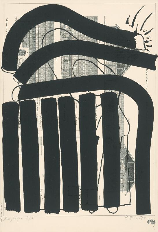 Rudolf Fila - Serigrafia IV.