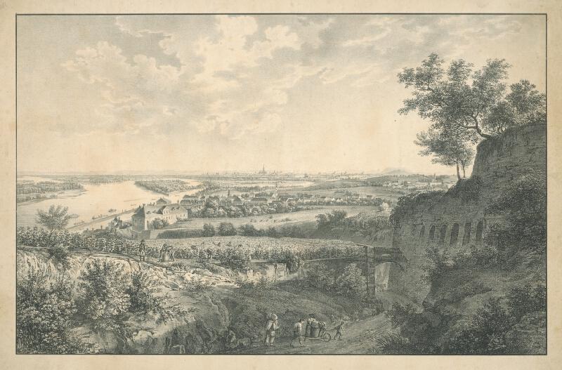 Stredoeurópsky grafik z 1. polovice 19. storočia - Oberačka