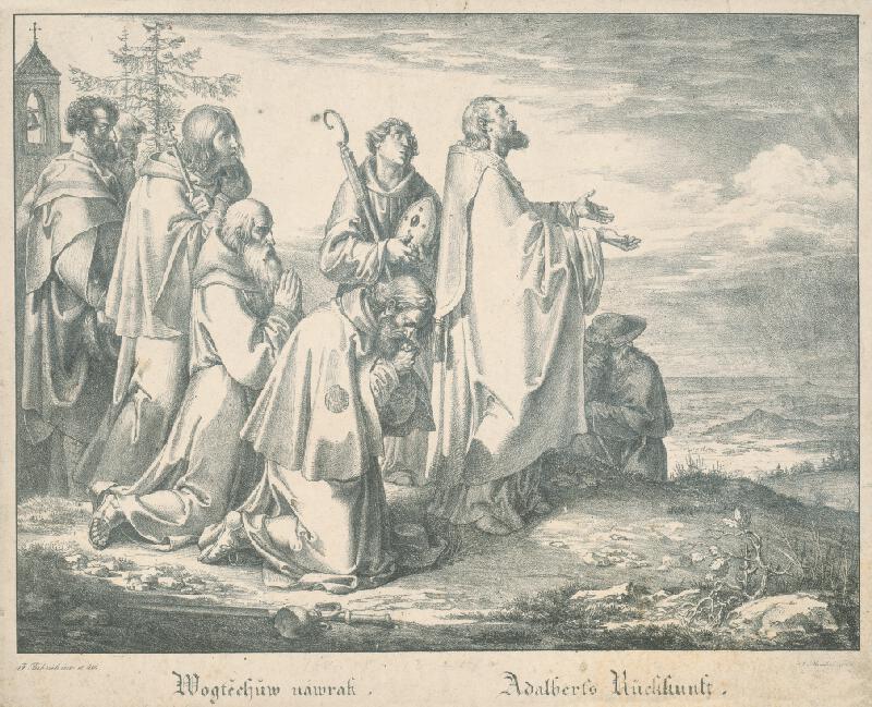 Joseph von Führich, Antonín Machek - Vojtechov návrat
