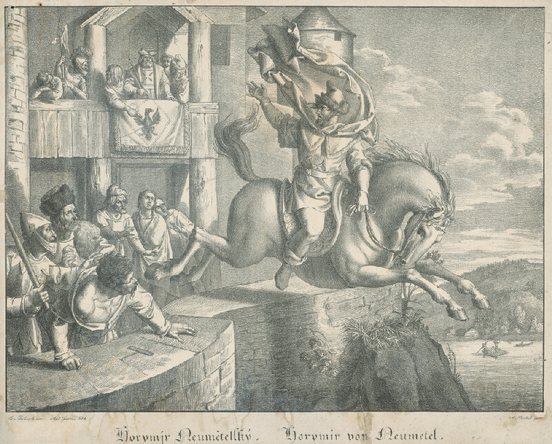 Joseph von Führich, Anton Gareis st. - Horymír Heumetelský