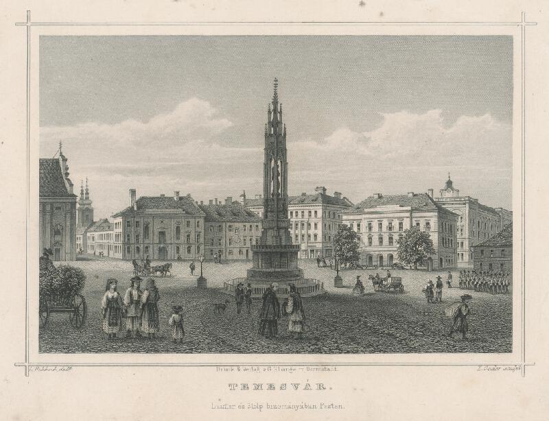 Ludwig Rohbock, L. Oeder - Temesvár