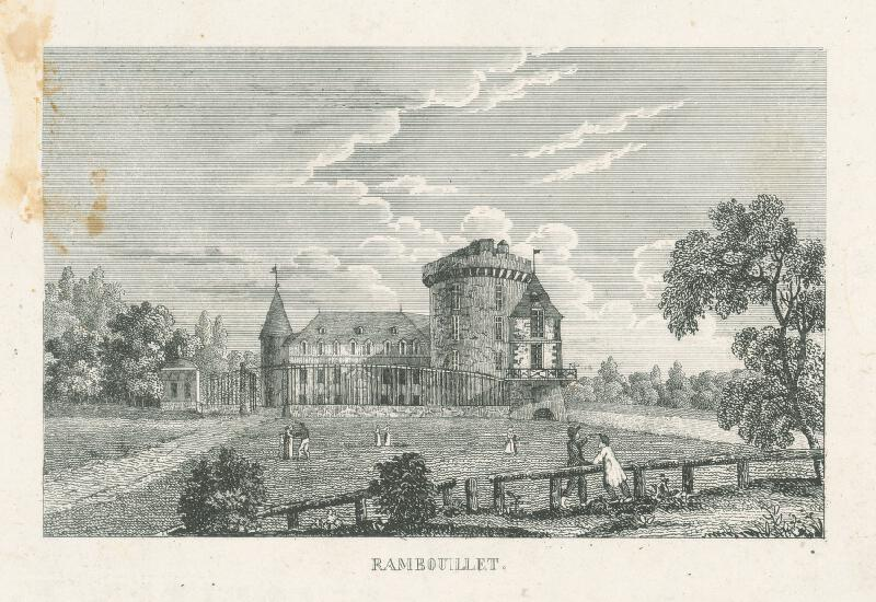 Nizozemský grafik z 19. storočia - Rambouillet