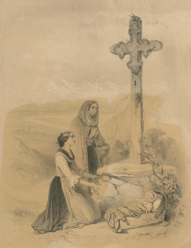 Théodore Valério - Modliace sa ženy