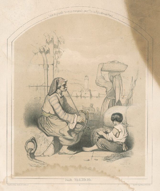 Théodore Valério - Fajčiar s chlapcom