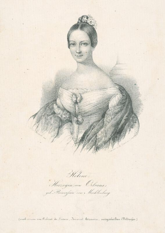 Cäcilie Brandt, August Kneisel - Helena,kňažná z Orleansu