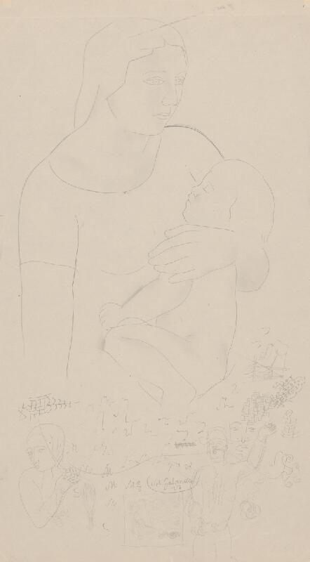 Mikuláš Galanda – Matka s dieťaťom