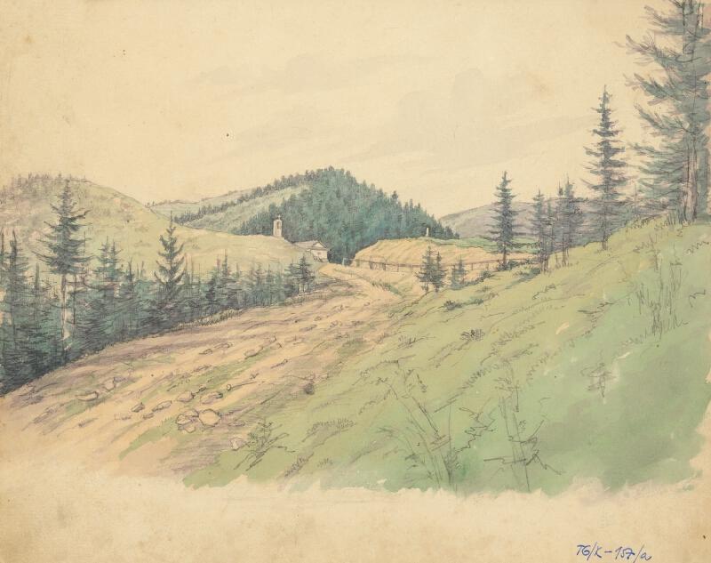 Slovenský kresliar z 3. štvrtiny 19. storočia - Branisko
