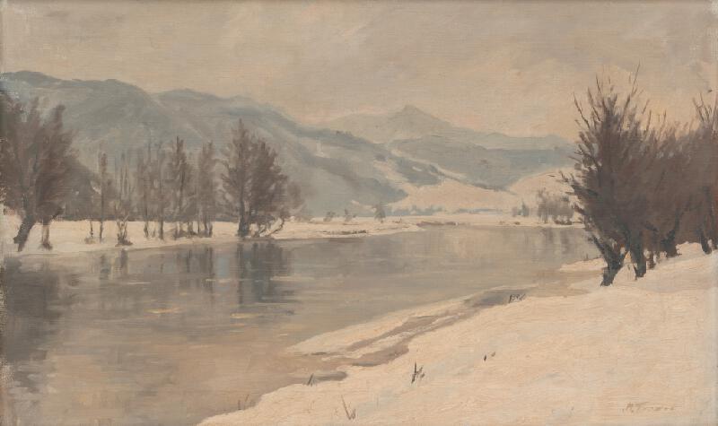Martin Tvrdoň - Zimná krajina od Žarnovice