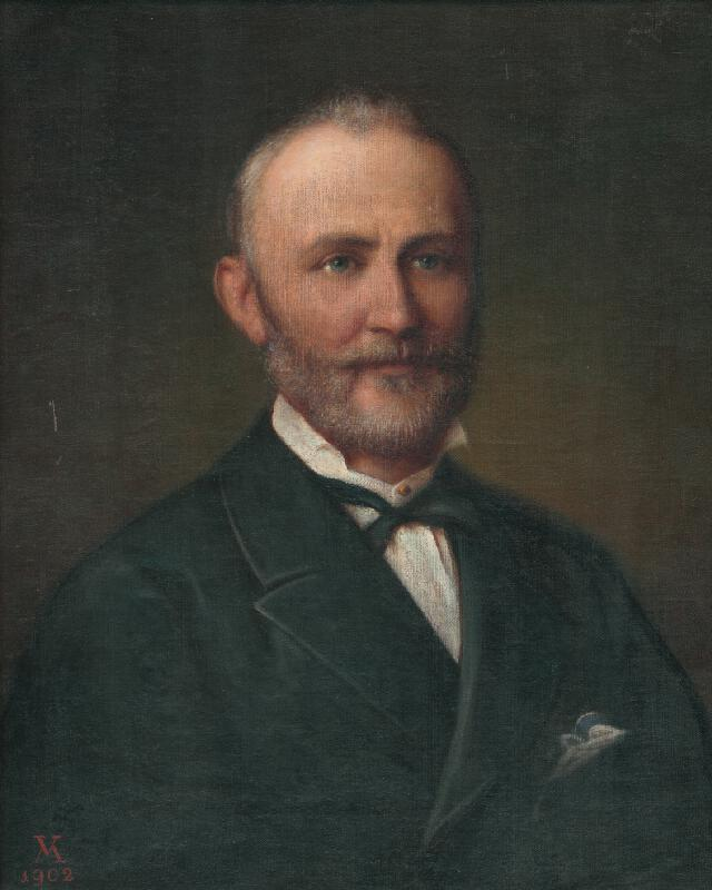 Viktor Madarász - Portrét muža