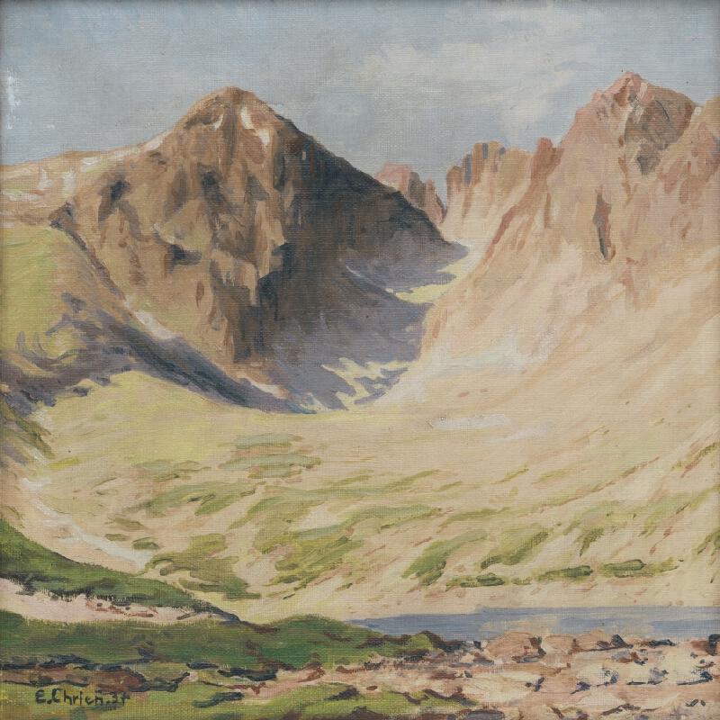 Eugen Chrien - Lomnický štít