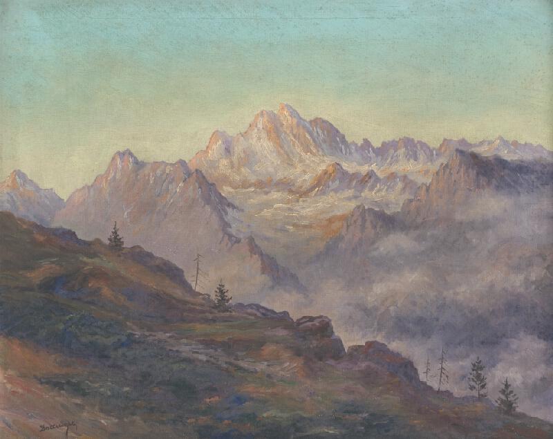 Otto Dollinger - Tatranský motív