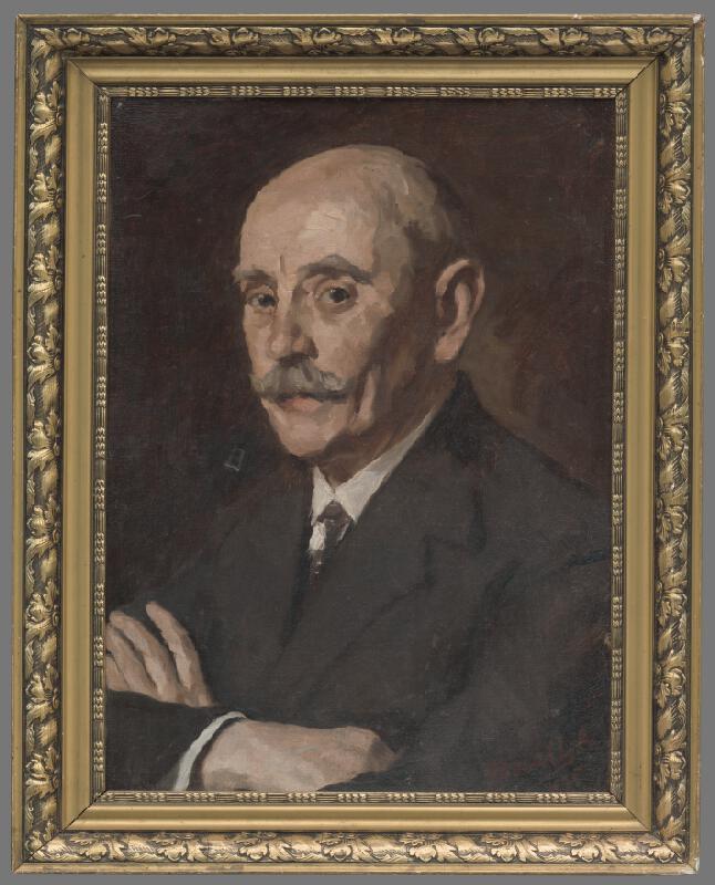 Andor Borúth - Podobizeň Imricha Fuhrmanna