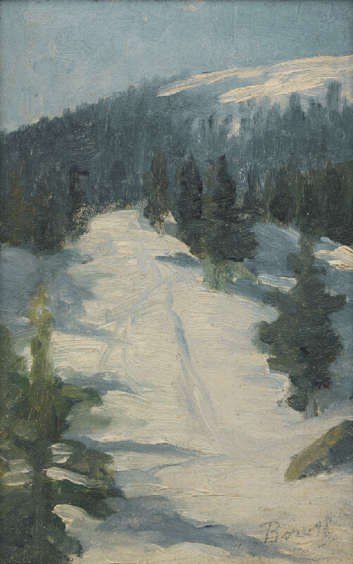 Andor Borúth - Lesný motív