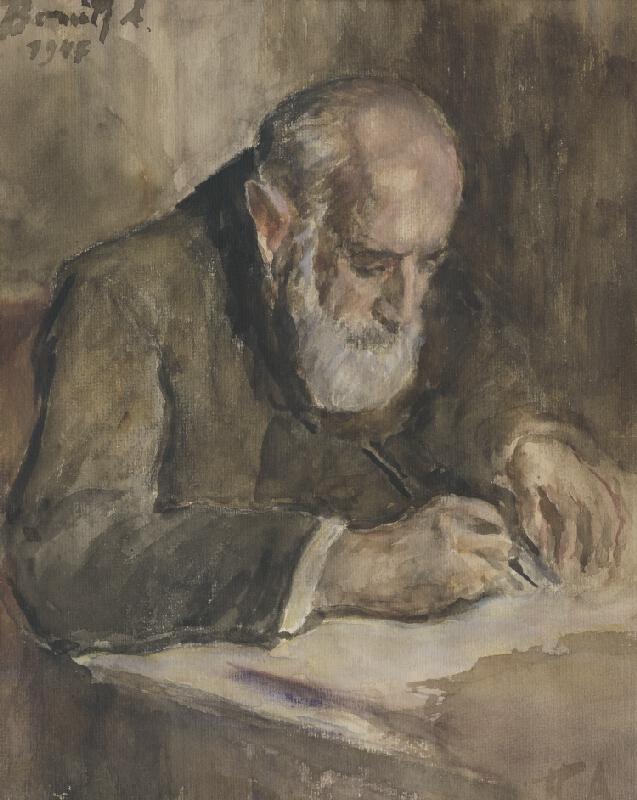 Andor Borúth - Hlava starca