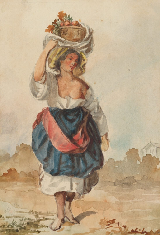 Vojtech Klimkovič - Žena z Talianska