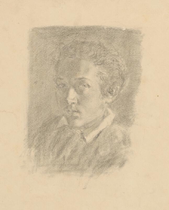 Slovenský maliar z 3. štvrtiny 19. storočia – Dedina