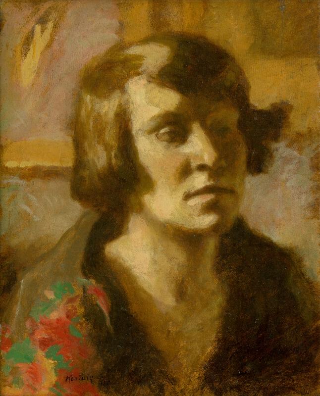 Béla Nemessányi Kontuly - Podobizeň ženy