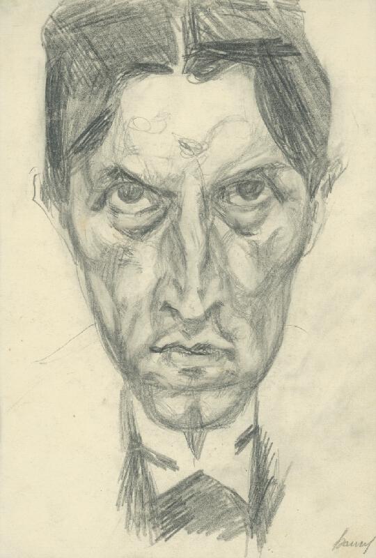Konštantín Bauer – Autoportrét