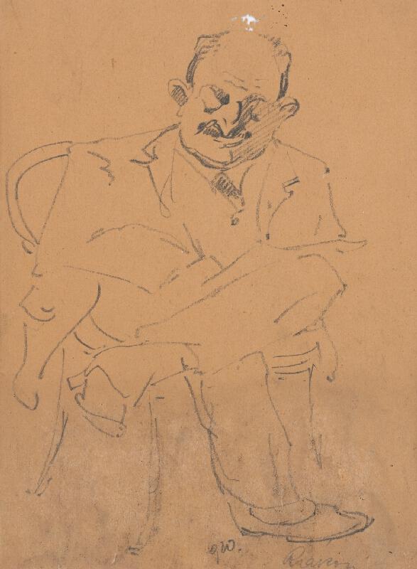 Ernest Rákosi – Sediaci muž