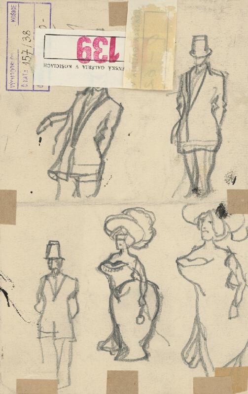 Konštantín Kövári-Kačmarik – Karikatúra dámskej módy