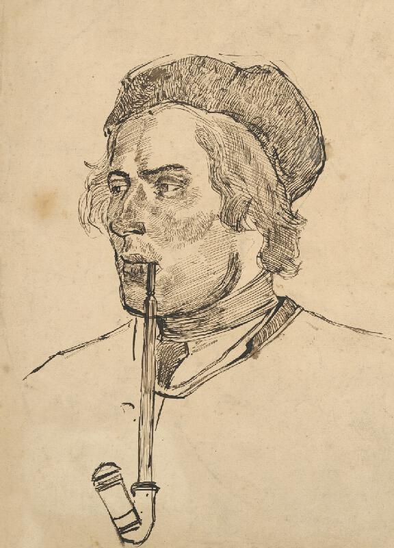 Ladislav Mednyánszky – Hlava muža