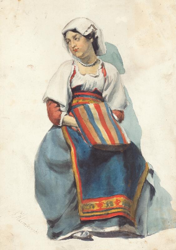 Vojtech Klimkovič - Žena z Dalmácie II.