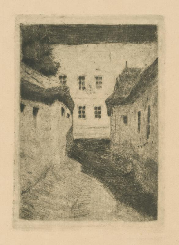 Koloman Tichy - Záber z Rožňavy